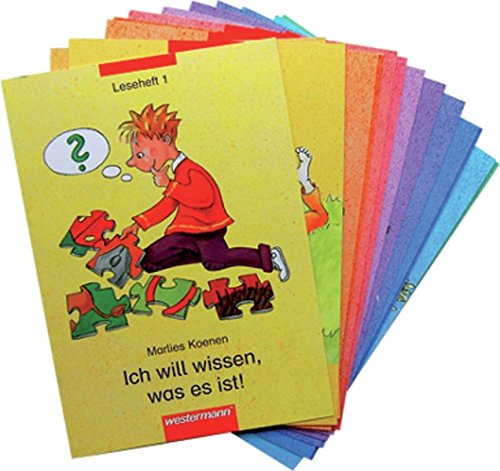 9783141260663: Leporello 1. Zusatzmaterialien zu allen Ausgaben: Leporello, Zusatzmaterialien : 1. Schuljahr, 16 Lesehefte u. Kopiervorlagenheft