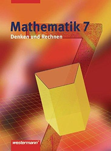 9783141260878: Denken und Rechnen 7. Schülerband. Hauptschule. Nordrhein-Westfalen