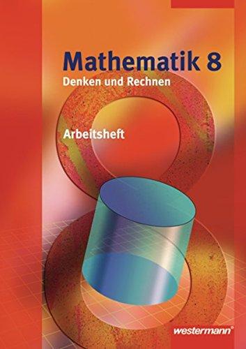 9783141261288: Mathematik Denken und Rechnen 8. Arbeitsheft. Hessen: Ausgabe 2008. Sekundarstufe 1
