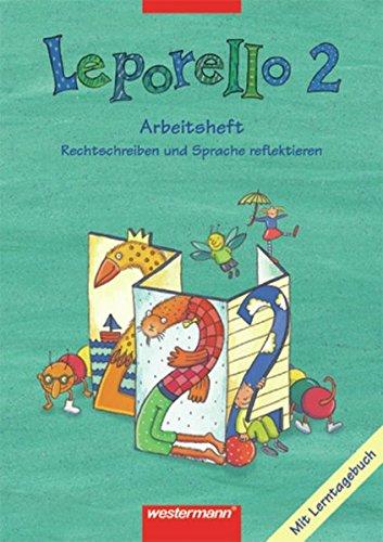 9783141261424: Leporello 2. Arbeitsheft. Schülerband. Nordrhein-Westfalen.
