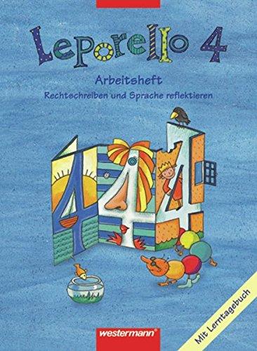 9783141261448: Leporello 4. Arbeitsheft. Schülerband. Nordrhein-Westfalen.