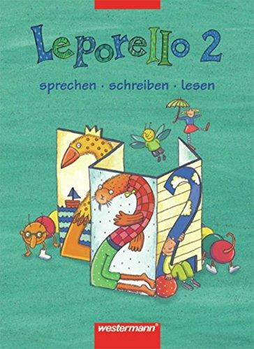 9783141261622: Leporello 2. Schülerband. Nordrhein-Westfalen.