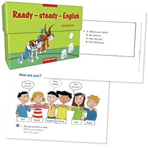 9783141270228: Ready-Steady-English. Karteikarten