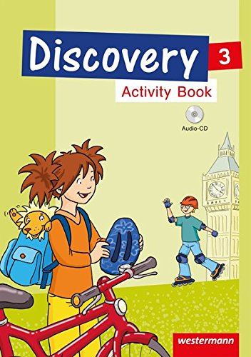 9783141276701: Discovery 3 - 4. Activity Book 3 mit CD: Ausgabe 2013