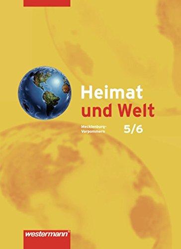 9783141447323: Heimat und Welt 5 / 6. Schülerband. Mecklenburg-Vorpommern