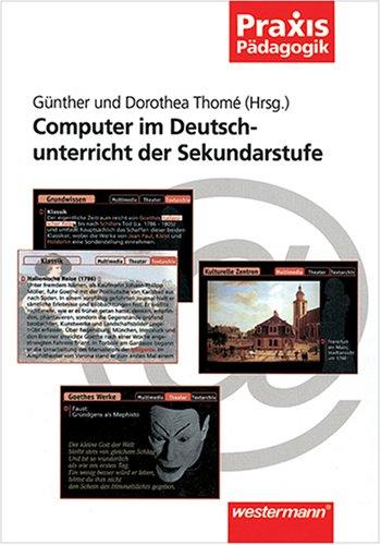 9783141620450: Computer im Deutschunterricht der Sekundarstufe