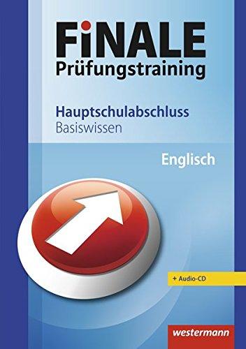 9783141700022: Finale - Prüfungstraining Hauptschulabschluss: Basiswissen Englisch mit Audio-CD