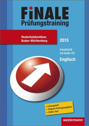 9783141715675: Finale - Prüfungstraining Realschulabschluss Baden-Württemberg