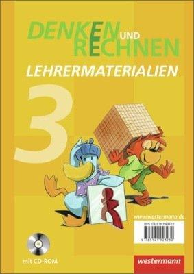 9783141923230: Denken und Rechnen. Ausgabe 2012 für Grundschule Hessen und Rheinland-Pfalz. Lehrermaterialien 3 mit Übungsaufgaben für Vergleichsarbeiten und differenzierten Erfolgskontrollen