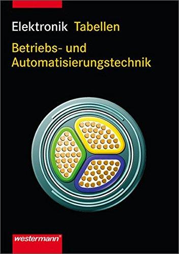 9783142350356: Elektronik Tabellen. Betriebs- und Automatisierungstechnik