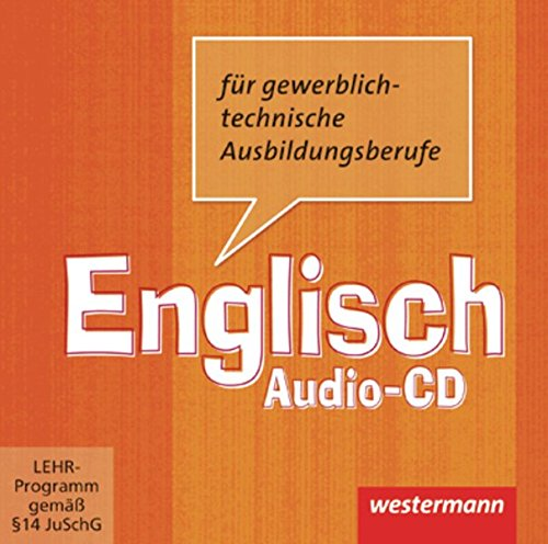 9783142450148: Englisch für gewerblich-technische Berufsschulen. CD