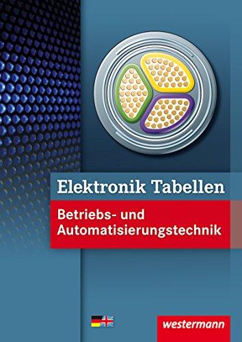 9783142450353: Elektronik Tabellen Betriebs- und Automatisierungstechnik