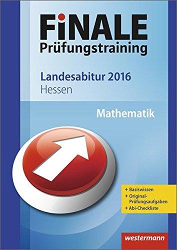 9783142716152: Finale - Pr�fungstraining Landesabitur Hessen: Abiturhilfe Mathematik 2016