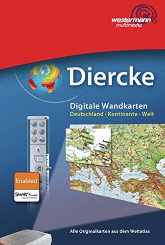 9783143611906: Diercke-Arbeitskarten Geographie: Diercke Weltatlas - aktuelle Ausgabe: Digitale Wandkarten: Deutschland-Kontinente-Welt - Schullizenz