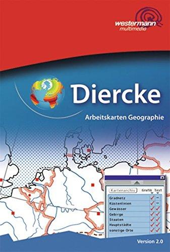 Diercke Weltatlas - aktuelle Ausgabe. CD-Rom: Arbeitskarten Geographie: Einzellizenz