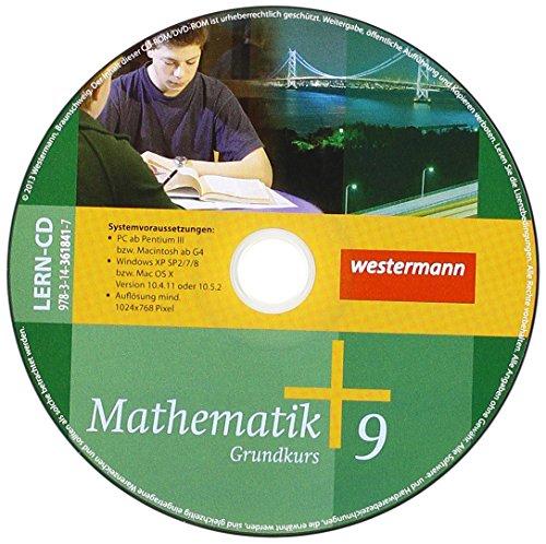 Mathematik 9. CD-ROM zum Schülerband 9 Grundkurs: Allgemeine Ausgabe 2006 für die ...
