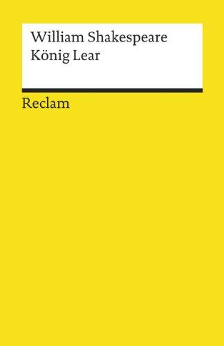 Koenig Lear: William Shakespeare