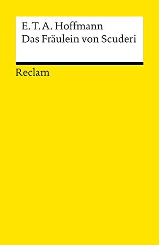 9783150000250: Das Fraulein Von Scuderi (German Edition)