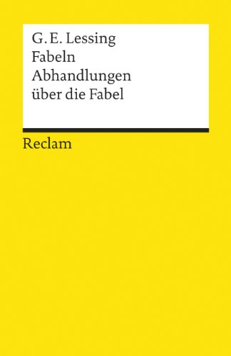 Fabeln: Lessing, C.