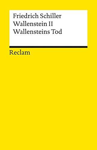 9783150000427: Wallensteins Tod