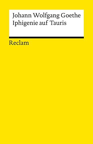 9783150000830: Iphigenie Auf Tauris (German Edition)