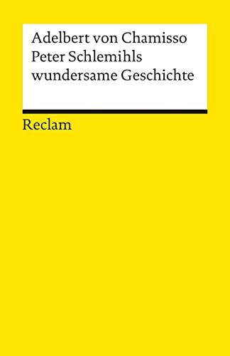 9783150000939: Peter Schlemihls Wundersame Geschichte