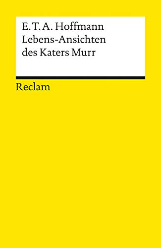Lebens-Ansichten DES Katers (German Edition) (9783150001530) by E. T. A. Hoffmann