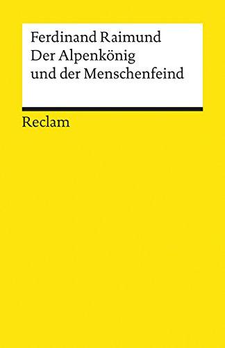 9783150001806: Der Alpenkönig und der Menschenfeind