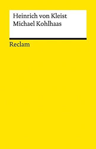 Michael Kohlhaas (German Edition): Von Kleist Heinrich