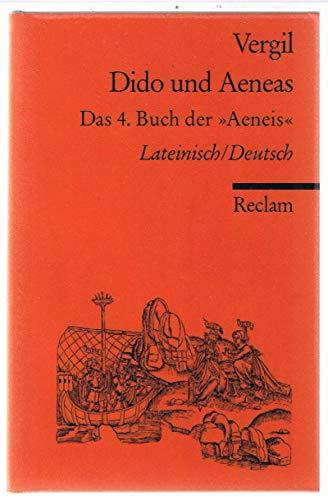 9783150002247: Dido und Aeneas. Das 4. Buch der