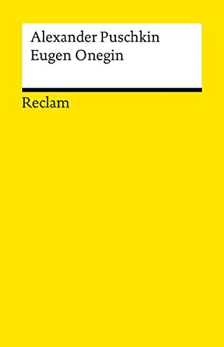 9783150004272: Eugen Onegin: Ein Roman in Versen