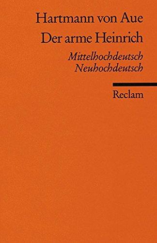 9783150004562: Der arme Heinrich: Mittelhochdeutsch / Neuhochdeutsch