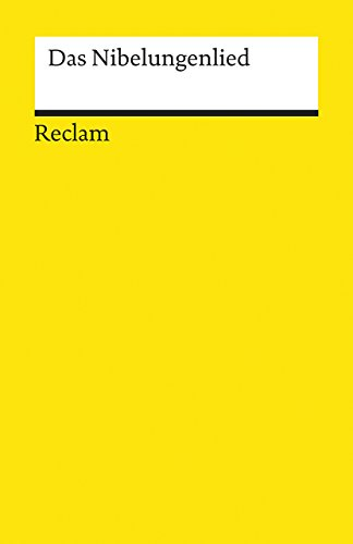 Das Nibelungenlied (Universal-Bibliothek Nr. 642): Genzmer, Felix, editor