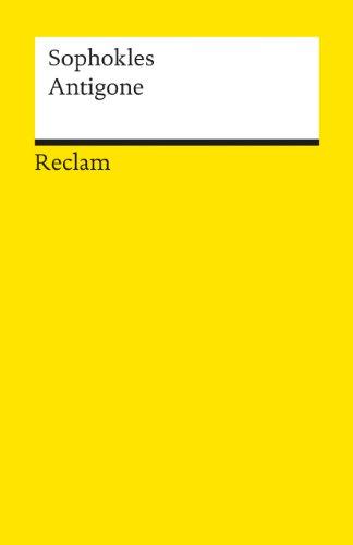 9783150006597: Antigone (German Edition)