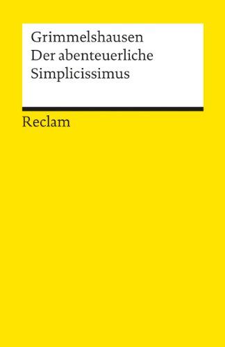 9783150007617: Der Abenteuerliche Simplicissimus Teutsc (German Edition)