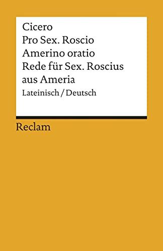 9783150011485: Rede für Sextus Roscius aus Ameria