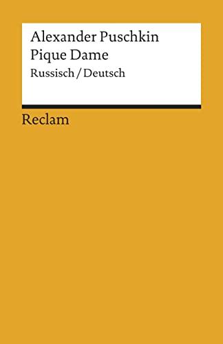 Pique Dame: Russisch/Deutsch: 1613: Puschkin, Alexander