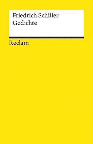 Gedichte: Schiller, Friedrich