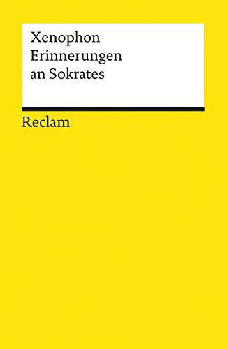 9783150018552: Erinnerungen an Sokrates