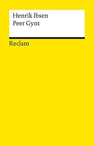 Henrik Ibsen Peer Gynt Ein Dramatisches Gedicht Abebooks
