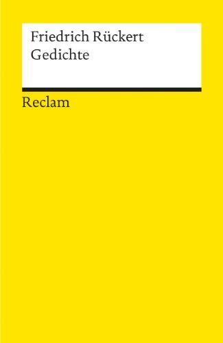 Gedichte: 3672: Rückert, Friedrich