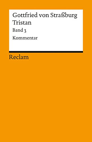 9783150044735: Tristan, Band 3 (German Edition)