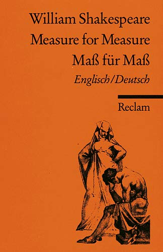MEASURE FOR MEASURE MASS FÜR MASS Englisch/Deutsch.: Shakespeare, William
