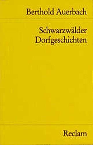 9783150046562: Schwarzwälder Dorfgeschichten
