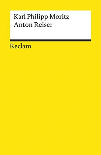 9783150048139: Anton Reiser Ein psychologischer Roman.