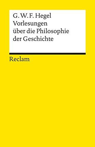 9783150048818: Vorlesungen Uber Die Geschichte (Universal-Bibliothek ; Nr. 4881-85) (German Edition)
