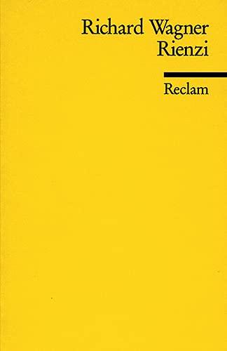 Rienzi: Richard Wagner