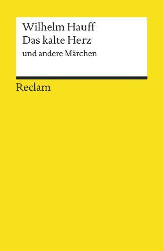 9783150067062: Das Kalte Herz (German Edition)