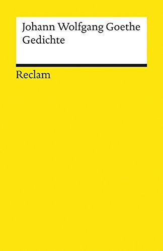 9783150067826: Gedichte (German Edition)
