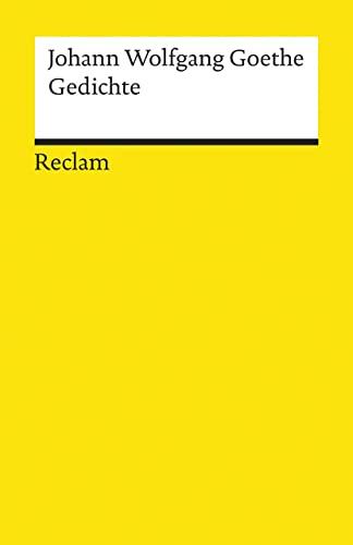 Gedichte (German Edition): Goethe, Johann Wolfgang von